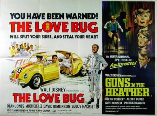 Love Bug 1968 David Tomlinson Herbie Guns in The Heather Kurt Russell