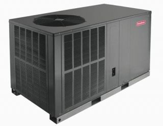 Ton Goodman 410A Heat Pump Package Unit Mobile Home
