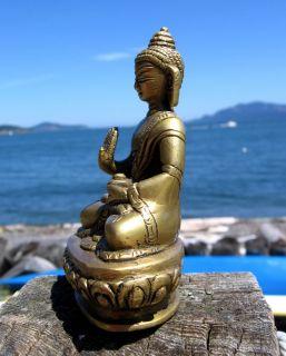 Marble No Fear Shakyamuni Buddha Statue Tibetan Buddhist India