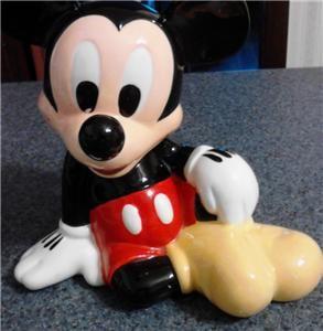 Mickey Mouse Bank Ceramic Made in China Lake Buena Vista, Florida