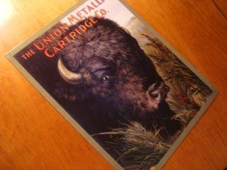 Primitive Style Western Americana Buffalo Decor Sign