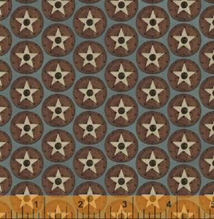 Buffalo Bill Stars Civil War Quilt Fabric Fat Quarter