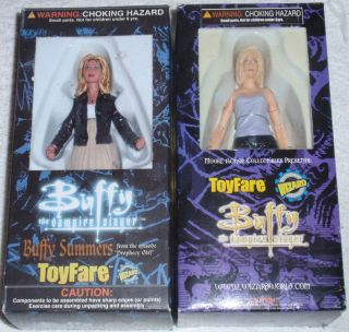 Buffy the Vampire Slayer Summers ToyFare Exclusive 6 Action Figure Lot