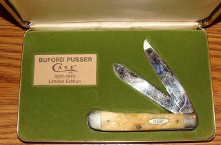 BUFORD PUSSER CASE KNIFE #606 WITH ORIGINAL BOX
