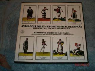 Antologia Del Folklore Musical de Espana Boxed Set