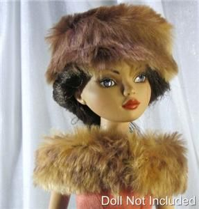 Buffy Hat a Doll Hat fits the Ellowyne Wilde and Prudence Moody Dolls