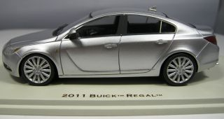 43 2011 Buick Regal Quicksilver Metallic by Luxury Collectibles Hand