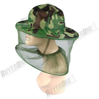 Mosquito Bug Insect Head Face Net Mesh Camping Hunting
