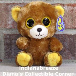 HONEY 6 Brown Bear Boos ~ Ty Beanie Baby Boos ~ NEW ~ Ready to Ship