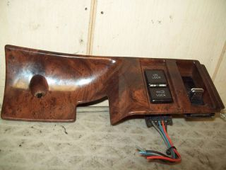 1992 Buick Park Avenue Door Lock Switch Passenger Side Front Woodgrain