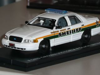 CUSTOM First Response Police Car BROWARD COUNTY FLORIDA SHERIFF Ford