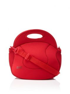 NWT BUILT NY Extra Relish Lunch Tote Bag Ski Patrol Red