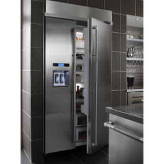 Air 42 Pro Style Stainless Steel Built In SxS Refrigerator JS42PPDUDB