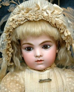 "15.5"" Bru Jne (June) Size 5 All Antique Bebe Doll  Absolutely SUPERB"