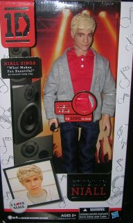 1D One Direction Band Niall Horan Singing Doll New