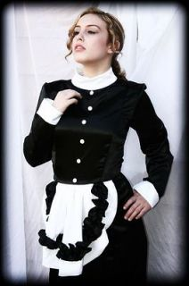 Adult Baby Sissy Crossdresser French Maid Locking Lockable Corset