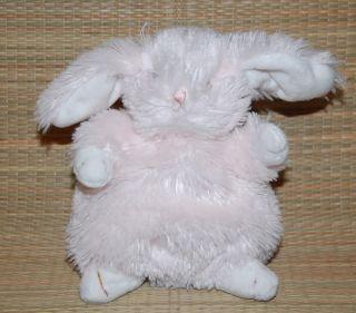 Bunnies by The Bay 7 Pink Plush Bean Bag Ittybit Bunny