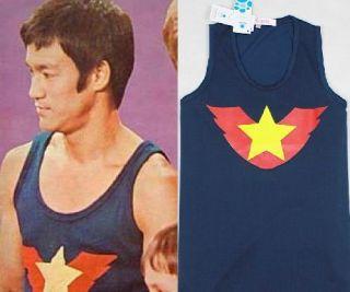 Bruce Lee RARE Tank Top High Quality 100 Cotton