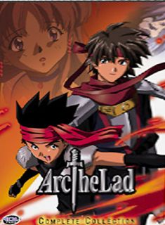 Arc the Lad Complete Collection DVD, 2003, 6 Disc Set