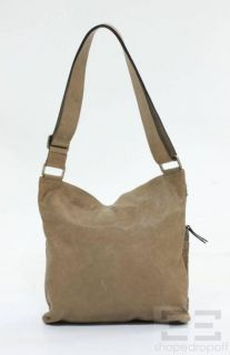 Brunello Cucinelli Tan Leather Pocket Front Crossbody Bag