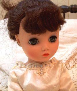 Uneeda Dollikin Fashion Cissy Doll 19 Bride Wedding