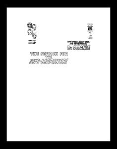 Jack Kirby Fantastic Four 27 RARE Production Art Cover