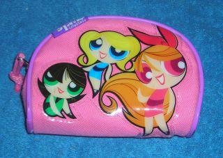 Powerpuff Girls Buttercup Blossom Bubbles 6 x 4 x 2 Canvas Purse