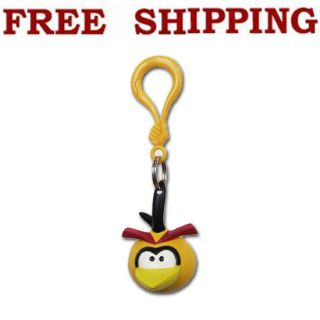 New Angry Birds Bubbles Orange Bird Hangers Key Chains