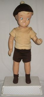 Vintage Buster Brown Advertising Doll 29 RARE Store Display Mannequin