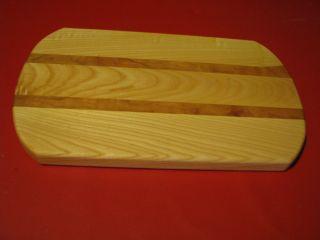 Hardwood Butcher Wood Block Meat Bread Cheese Cutting Board