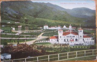 1907 Postcard Columbia Gardens Butte Montana Mont MT