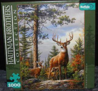 Hautman Brothers Deer Buck Standing Proud Jigsaw Puzzle
