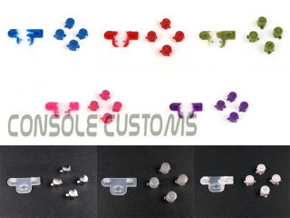 Controller Shell Replacement case housing transparent with buttons