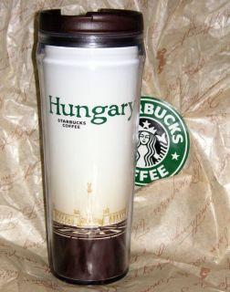 STARBUCKS COFFEE BUDAPEST CITY HUNGARY TUMBLER COLLECTIBLE TRAVEL MUG