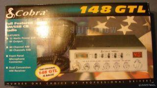 Cobra 148 GTL 40 Channel Classic Mobile CB Radio RF Gain 40 Am 80 SSB