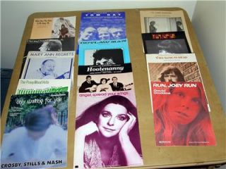 13 70s Pop & folk stars Judy collins james taylor sheet music