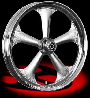 Colorado Custom Wheel Chrome Front Buffalo 23 x 3 5 Harley 00 12 FLHR