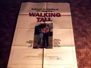Walking Tall C Orig Movie Poster 1973 Buford Pusser