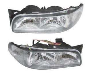 New Pair 97 98 99 Buick LeSabre w Corn Headlight Head Light Lamp