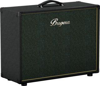Bugera 212V BK 2x12 Guitar Speaker Cabinet Black Slant
