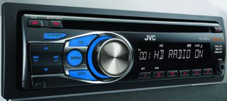 JVC KD HDR44 CD Receiver Built in HD Radio Tuner KDHDR44 KDHDR44B