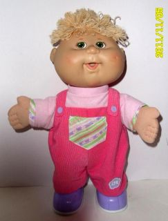 Cabbage Patch Kids Doll 2007 Baby Go Bye Bye Talking