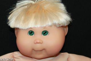 Cabbage Patch Kids Modern Toys R Us TRU Blonde Green Onion Top K2 Boy