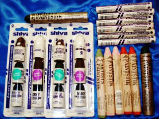 25 PIECE PROFESSIONAL PAINTSTIK SET BY SHIVA MARKAL PAINTSTICKS