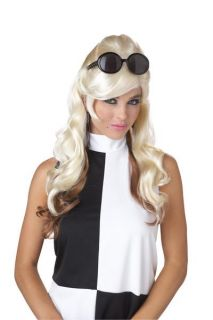 60s Bump Go Go Girls Adult Costume Wig   Blonde/Brown 70663