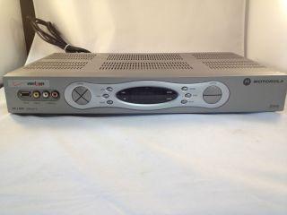 Verizon Motorola HD DVR Cable Box with Power Cord Model QIP6416 2