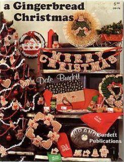 Dale Burdett A Gingerbread Christmas Cross Stitch Book