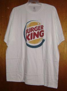 Burger King Tone Logo Licensed T Shirt XL x Large New