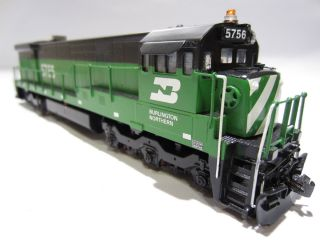 HO Scale Custom Painted Brass BN Burlington Northern GE U 33C #5756