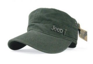 New Jeep Army Green Hunting Caps Cap Cadet Military Hat